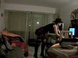 Vidéo d'un striptease...