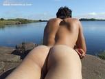 Fesses d'hommes en photo