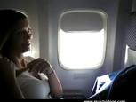 Masturbation dans l'avion