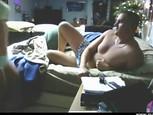 Bonne blonde baise en webcam avec son mec