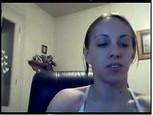 Webcam d'une brunette très sexy