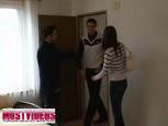 Jeune femme tchèque sodomisée lors d'un casting amateur
