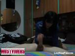 Vidéo privée d'un jeune couple à l'hôtel