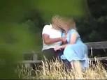 Vidéo voyeur d'un couple mature